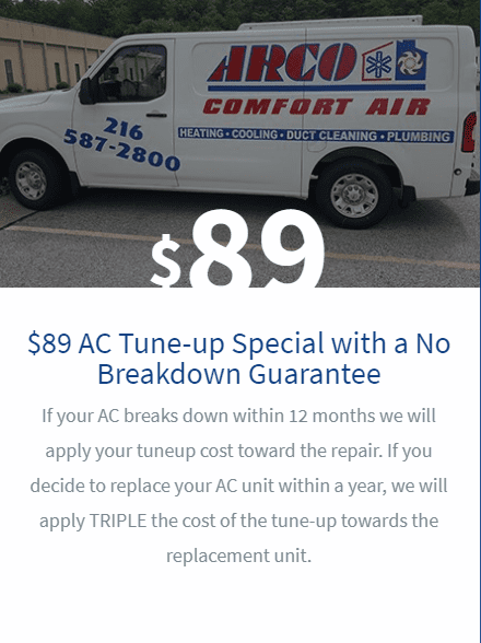 $89 AC System Tune-Up Special