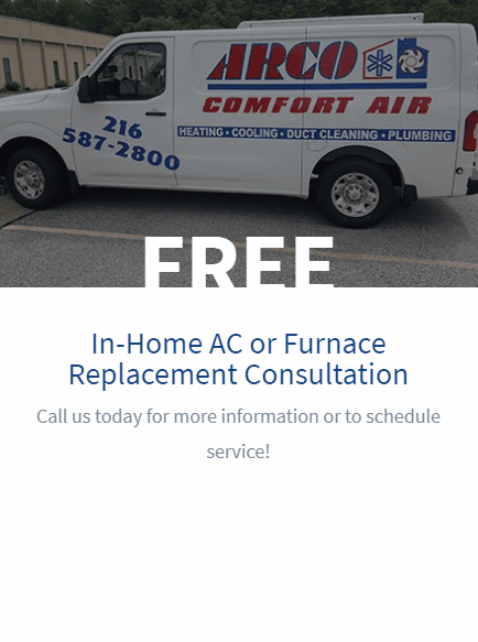 Free In-Home AC or Furnace Replacement Consultation